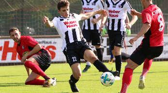 Der verletzte Felix Roth aus Durbach (links im Hintergrund) kehrt mit dem SC Freiburg II nur als Zuschauer zurück in die Ortenau.