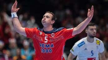 Auf dem besten Weg zum MVP dieser EM: Norwegens Star Sander Sagosen.