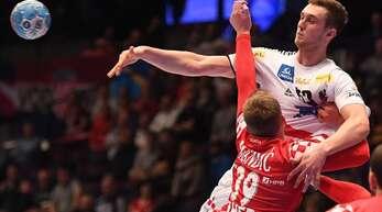 Dreh- und Angelpunkt der österreichischen Nationalmannschaft: Nikola Bilyk, der in der Bundesliga für den THW Kiel im Rückraum am Ball ist.