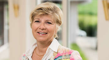 Bettina Lehmann-Isenmann - die Pflegeheimbetreiberin stellt den zu Pflegenden in den Vordergrund ihrer Arbeit.
