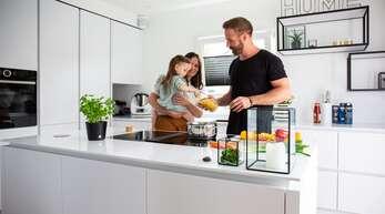 Wohnküchen sind der Mittelpunkt des modernen Wohnens.