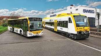 Das Angebot der SWEG im Bus- und Schienenverkehr wird in der Corona-Krise kaum genutzt. Die Zahl der Fahrgäste ging laut Vorstandsvorsitzendem Tobias Harms um 90 Prozent zurück.