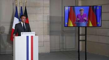 Der deutsch-französische Vorstoß für einen europäischen Wiederaufbaufonds nach der Corona-Krise soll den Zusammenhalt in der EU sichern.