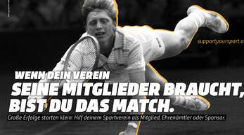 Boris Becker, reloaded: Solidar-Adresse des Deutschen Olympischen Sportbunds (DOSB) in Corona-Zeiten