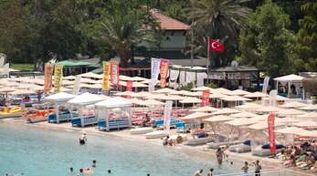 An türkischen Stränden soll künftig mehr Abstand sein.