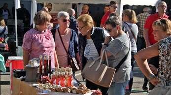 Der Bauernmarkt zählt zu den Großveranstaltungen in Rammersweier. Ob er dieses Jahr stattfinden kann, ist noch unklar.