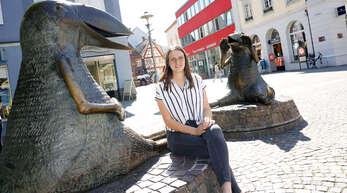 Seit Ende März verbringt die Fußballerin und ehemalige Oken-Abiturientin Julia Rauch ihre Zeit wieder in Offenburg.