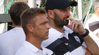Trainer-Duo: Reiner Heitz (l.) und DIrk Wagner.