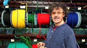 Bernhard Muffler hat die Corona-Krise dank seiner krisenresistenten Produkte bisher gut umschifft.