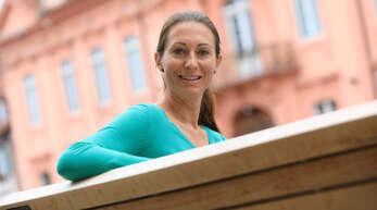 """""""Wer nicht wagt, der nicht gewinnt."""" Gemäß ihrem Lebensmotto kandidiert Dorothée Springmann, Polizeibeamtin in Offenburg, für das Ehrenamt als KSC-Präsidentin."""