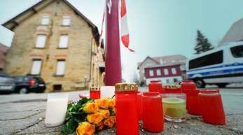 """Der Tatort am Tag danach: In Rot am See konnte man nicht fassen, was sich am 24. Januar 2020 im """"Deutschen Kaiser"""" abgespielt hat. Die Fassungslosigkeit ist geblieben."""