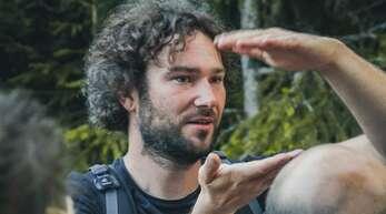 Im Schwarzwald sind überall Wanderwege, sagt der Nationalpark-Ranger Patrick Stader.