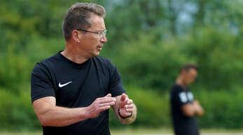 Während Helmut Kröll (l.) in seine 2. Saison als Trainer des FV Schutterwald geht, ...