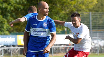 Lionel Labad (l.) war mit seinen 21 Treffern der Toptorschütze des SV Niederschopfheim in der Meistersaison.