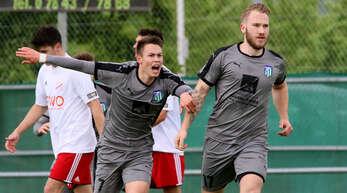 Geballte Offensivpower: Marius Hauser (l.) und Jan Philipowski erzielten in den 18 Spielen der Vorsaison zusammen 33 Tore.