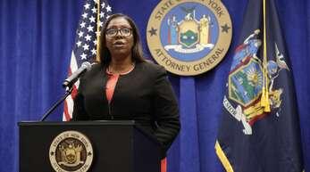Justizministerin Letitia James will den Waffenlobbyverband NRA auflösen lassen.