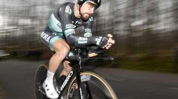 Der Radsport als Tretmühle: Peter Sagan in Aktion