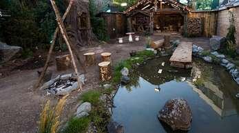 Der Märchenwald ist alles andere als märchenhaft. Foto:Sat.1 Willi Weber