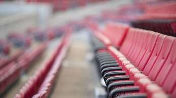 Leere Sitzplätze wird man in den Stadien der Fußball-Bundesliga noch lange sehen.