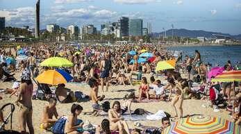 In Barcelona kehrt das Leben wieder etwas zur Normalität zurück.