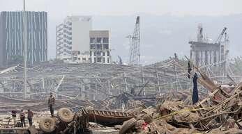 In Beirut war es am Dienstag zu einer Explosionskatastrophe gekommen.