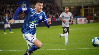 Ludovic Ajorque könnte gegen Dijon von Beginn an spielen.
