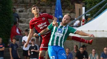 Jan Philipowski (rechts) fehlt dem SC Durbachtal nach seiner Roten Karte in Endingen zwei Spiele.