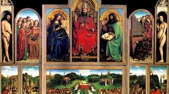 Der Genter Altar ist ein Flügelaltar, der 1432 enthüllt wurde.