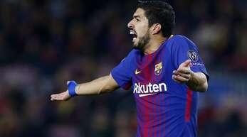 Beim FC Barcelona wird Luis Suarez wohl nicht bleiben. Doch der Wechsel zu Juventus Turin ist geplatzt.