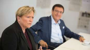 Fordern Investitionen in Zukunftsbranchen: CDU-Spitzenkandidatin Susanne Eisenmann (links) und CDU-Landtagsfraktionschef Wolfgang Reinhart