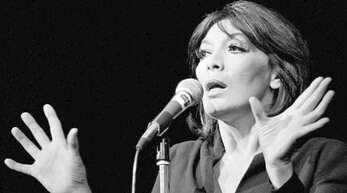 Sie sang ihre Chansons nicht nur, sondern spielte und durchlebte sie: An die schönsten Lieder von Juliette Gréco erinnert unserer Bildergalerie.