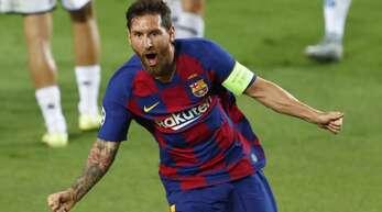 Ein Grund zur Freude: Lionel Messi ist in FIFA 21 der beste Spieler im Spiel.