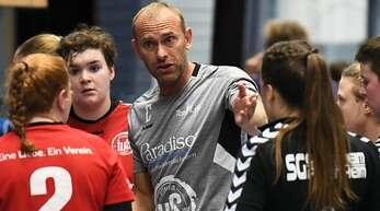 Ex-Bundesligaspieler Martin Valo coacht im zweiten Jahr die Frauen des TuS Altenheim.