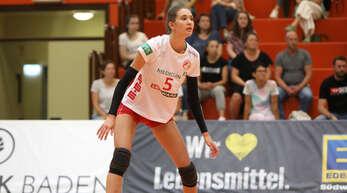 Die 19-jährige Annika Dilzer hat ihr Potenzial gegen Sinsheim nach nervösem Beginn bereits aufblitzen lassen.