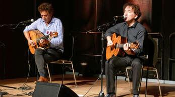 Francisco Cordovil (links) und Branko Galoic bescherten dem Kehler Publikum einen wunderbaren Abend.