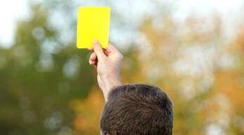 Ein Foulspiel, das mit der Gelben Karte geahndet wurde, war der Auslöser für die Beschimpfungen am Samstag in Bühlertal.
