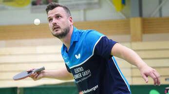 Spitzenspieler Yannick Schwarz gewann am Wochenende alle vier Einzel für die DJK Offenburg.