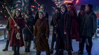 Ob das wirklich die braven Kinder sind, die da im Weihnachtsland auf Neuankömmlinge warten?