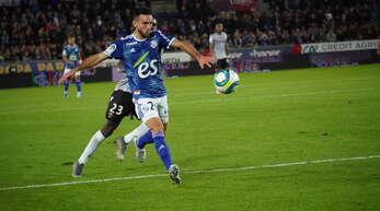 Adrien Thomasson erzielte den Treffer zum zwischenzeitlichen 1:0 für Racing.