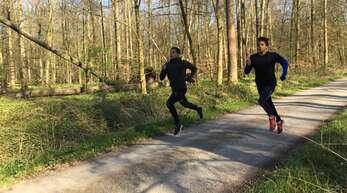 Erfolgreiche Brüder: Milo (links) und Malik Skupin-Alfa von der LG Offenburg sind in den Kaderlisten sind auch für 2021 in den Kaderlisten aufgeführt.