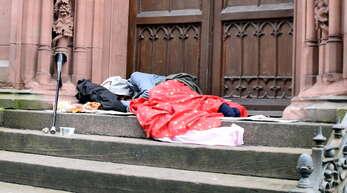 Obdachlose müssen im Winter in Offenburg nicht auf der Straße schlafen.