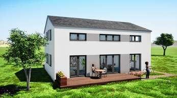 Mit der Hausbauformel b/forest 40+ weist Burkart Haus in Renchen bauwilligen Familien einen Weg ins maßgeschneiderte Eigenheim.