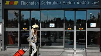 Ein Bild aus vergangenen Tagen: Der Flugverkehr am Baden-Airpark ist im zweiten Lockdown massiv eingebrochen, viele Flugverbindungen wurden komplett gestrichen.