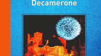 "Buchcover der Textsammlung ""Corona Decamerone""."