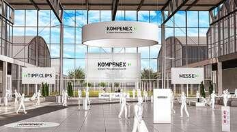 """Willkommen bei der """"Kompenex""""! Am Dienstag, 24. November, können sich hier Fortbildungswillige virtuell informieren."""