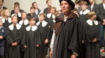 Ein Bild aus besseren Zeiten: die Hymnus-Chorknaben Stuttgart