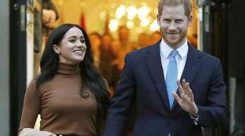 """Prinz Harry wurde von den Lesern des amerikanischen Magazins """"People"""" zum Sexiest Royal 2020 gewählt. (Archivbild)"""