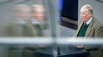 AfD-Fraktionschef Alexander Gauland spricht im Parlament zur Bedrängung von Abgeordneten im Bundestag durch Gäste