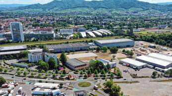 In Offenburg soll der Aufbau des Zentralen Impfzentrums am Mittwoch starten.