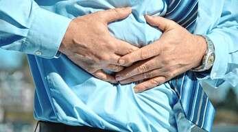 Magengeschwüre können Bauchschmerzen verursachen.